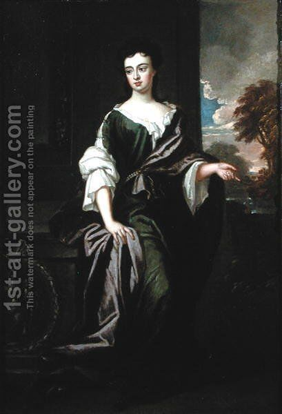 Portrait of the Countess of Ranelagh by Sir Godfrey Kneller - Reproduction Oil Painting