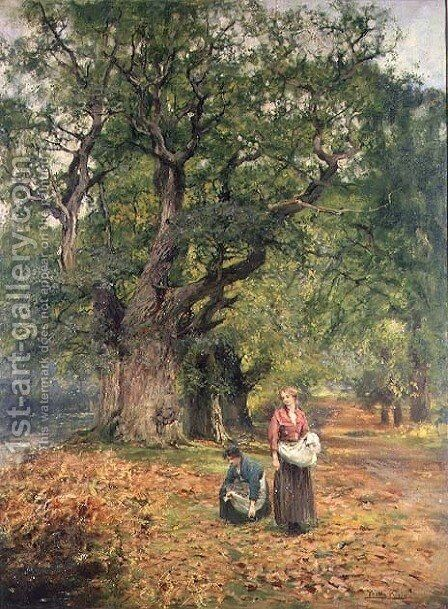 Gathering Firewood by Henry John Yeend King - Reproduction Oil Painting