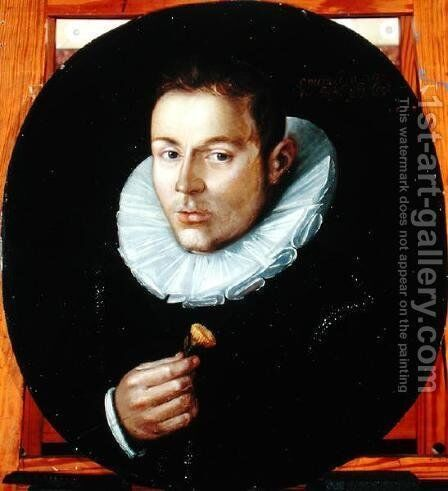 Portrait of a Man by Cornelis Ketel - Reproduction Oil Painting