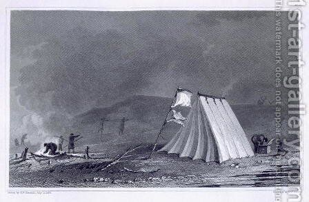 Encampment in Browell Cove by (after) Kendall, E.N. - Reproduction Oil Painting