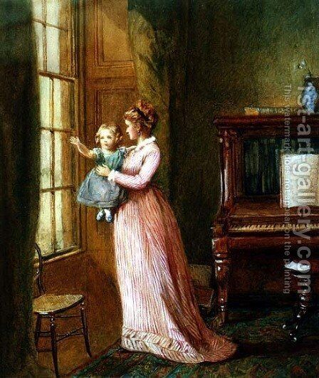 Waving Goodbye by Harriet Kempe - Reproduction Oil Painting