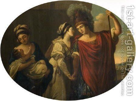 Decorative Panel by Angelica Kauffmann - Reproduction Oil Painting