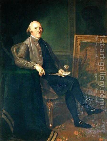 Frederick Hervey 1730-1803 by Angelica Kauffmann - Reproduction Oil Painting