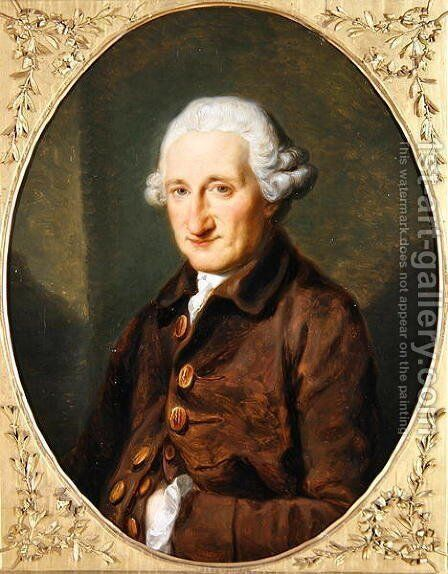 A Man Called Sir Robert Hervey by Angelica Kauffmann - Reproduction Oil Painting