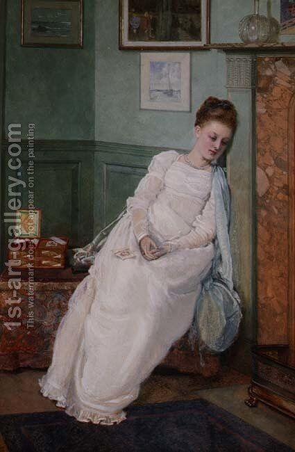 Memories by Edward Killingworth Johnson - Reproduction Oil Painting