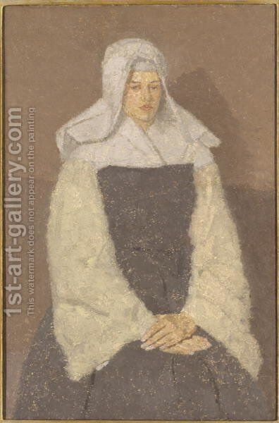 Young Nun by Gwen John - Reproduction Oil Painting