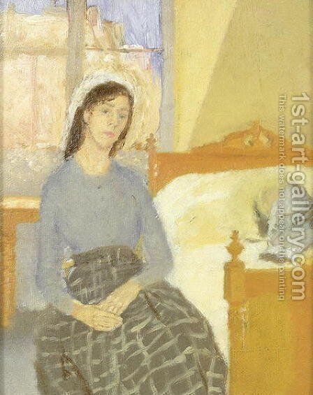 The Artist in her Room in Paris by Gwen John - Reproduction Oil Painting