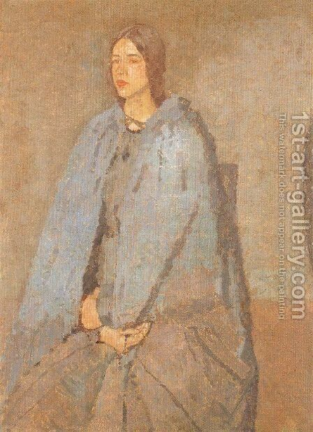 The Pilgrim by Gwen John - Reproduction Oil Painting