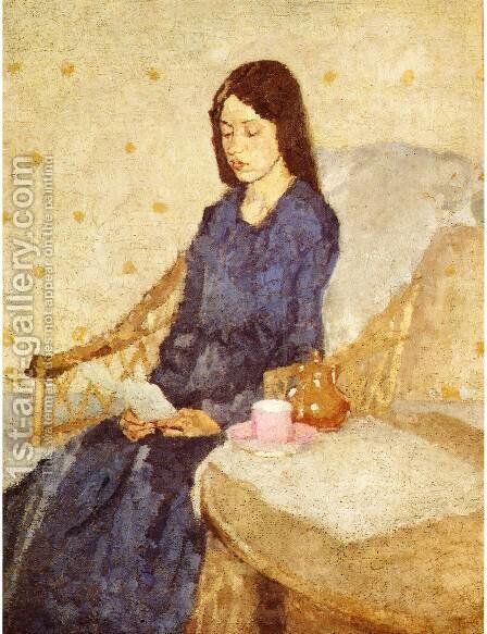The Convalescent by Gwen John - Reproduction Oil Painting