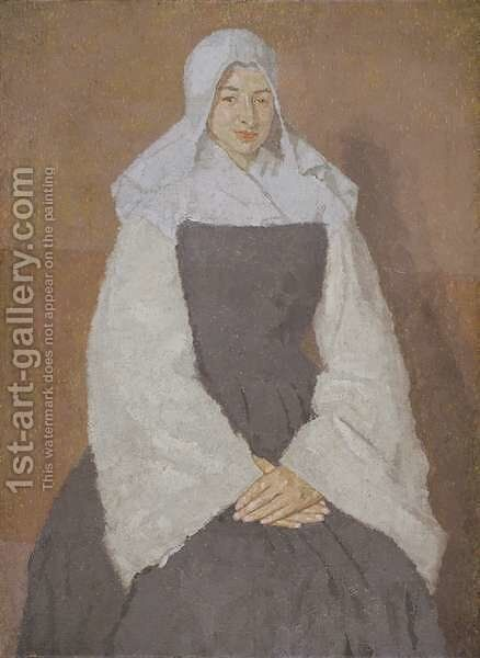 Mere Poussepin by Gwen John - Reproduction Oil Painting
