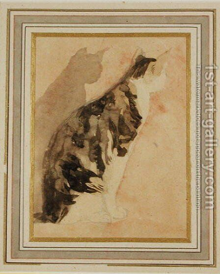 Study of a Cat 2 by Gwen John - Reproduction Oil Painting