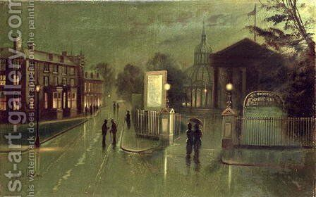 Night Scene Royal Spa by Wilfred Jenkins - Reproduction Oil Painting
