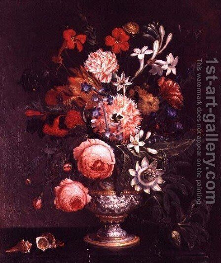 Still Life 2 by N. Javrillard - Reproduction Oil Painting