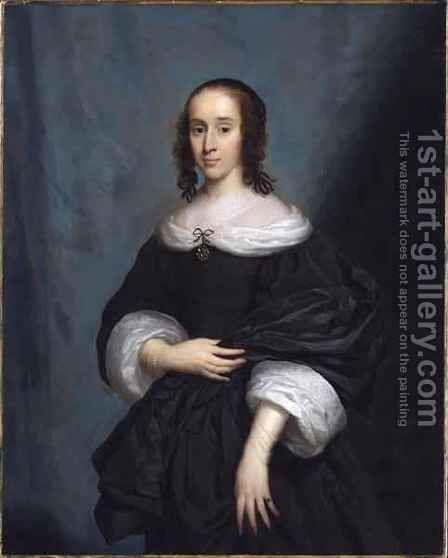 Portrait of a Lady by Cornelius Janssens van Ceulen - Reproduction Oil Painting
