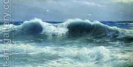 Breakers by David James - Reproduction Oil Painting