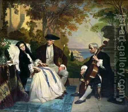 The Convalescent by Jean Jalabert - Reproduction Oil Painting