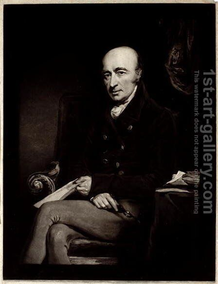 William Hyde Wollaston by (after) Jackson, John - Reproduction Oil Painting