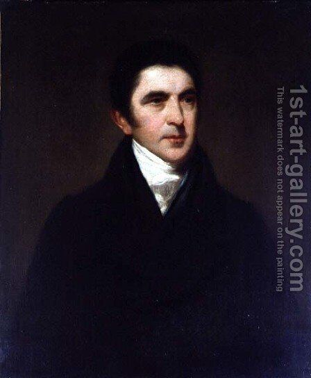 Sir John Barrow 1764-1848 by John Jackson - Reproduction Oil Painting
