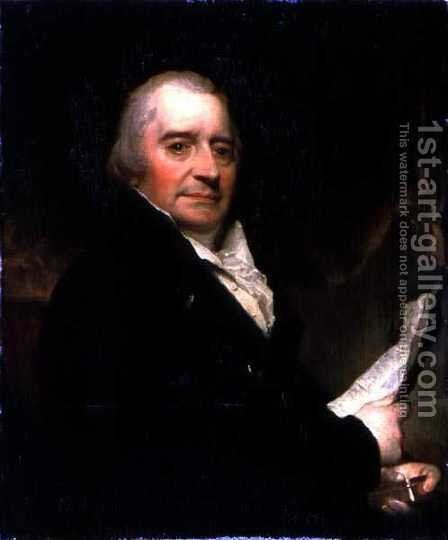 Portrait of George Dance 1741-1825 by John Jackson - Reproduction Oil Painting
