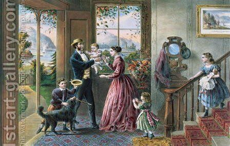 The Four Seasons of Life Middle Age The Season of Strength by (after) Ives, J.M - Reproduction Oil Painting