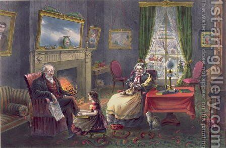 The Four Seasons of Life Old Age The Season of Rest by (after) Ives, J.M - Reproduction Oil Painting