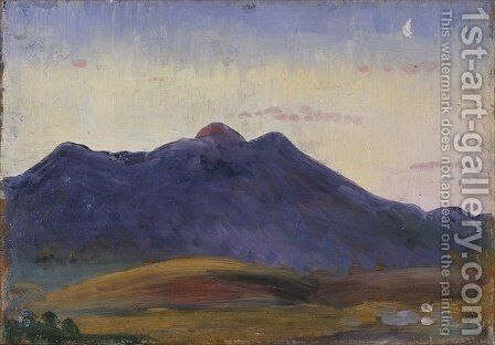 Arenig by James Dickson Innes - Reproduction Oil Painting
