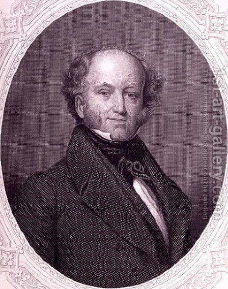 Martin van Buren by (after) Inman, Henry - Reproduction Oil Painting