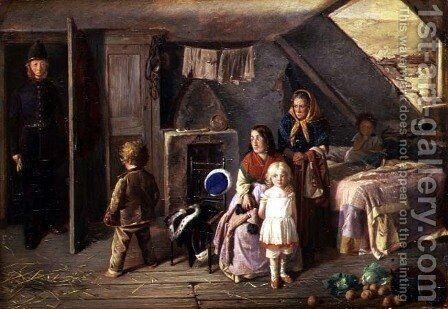 The Stolen Child by Charles Hunt - Reproduction Oil Painting
