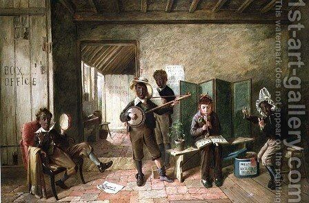 The Nigger Sam Band by Charles Hunt - Reproduction Oil Painting