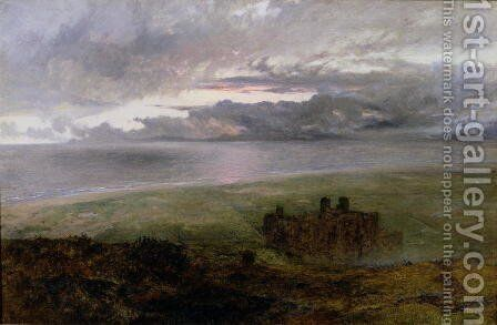 Harlech Castle 2 by Alfred William Hunt - Reproduction Oil Painting