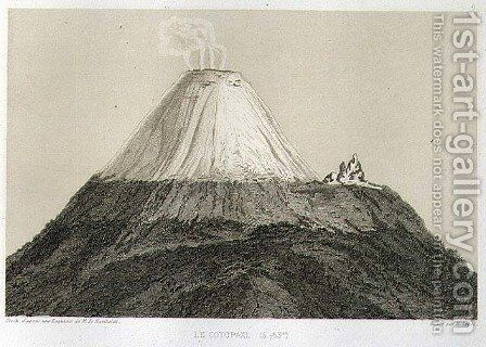 Cotopaxi by (after) Humboldt, Friedrich Alexander, Baron von - Reproduction Oil Painting