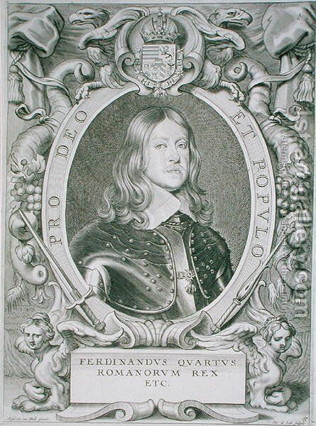 Ferdinand IV by (after) Hulle, Anselmus van - Reproduction Oil Painting