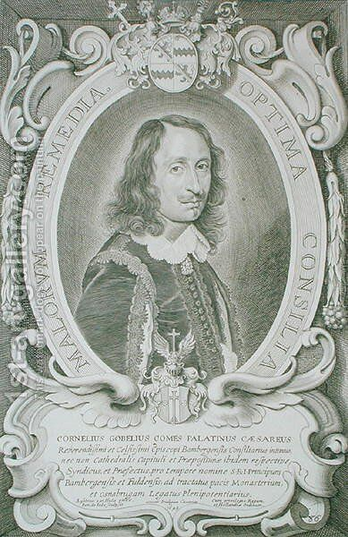 Cornelius Gobel by (after) Hulle, Anselmus van - Reproduction Oil Painting