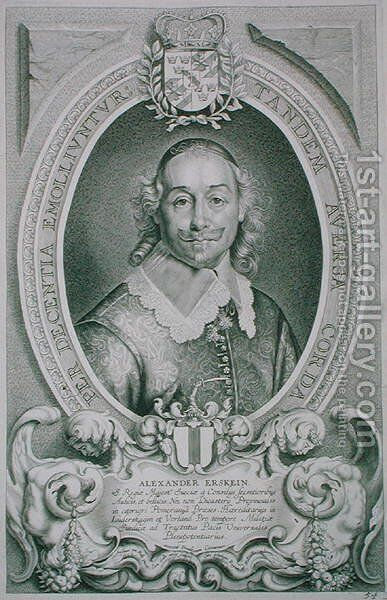 Alexander Erskein by (after) Hulle, Anselmus van - Reproduction Oil Painting