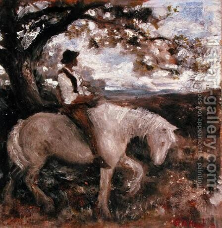 Sketch for a Pastoral by Edward Robert Hughes - Reproduction Oil Painting