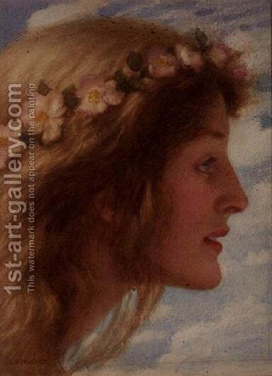Day by Edward Robert Hughes - Reproduction Oil Painting