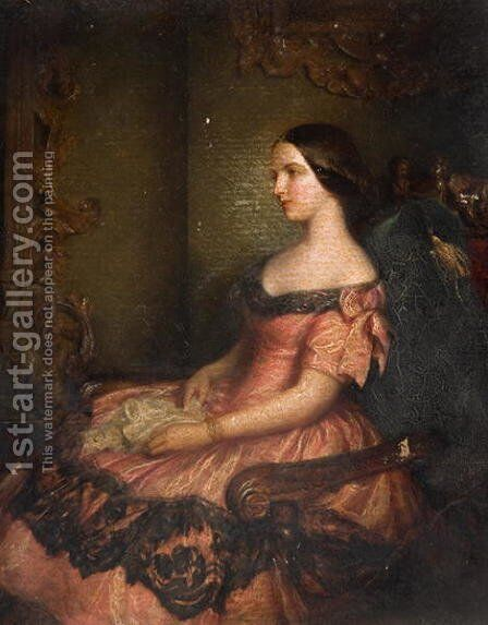 Meditation by Edward Hughes - Reproduction Oil Painting