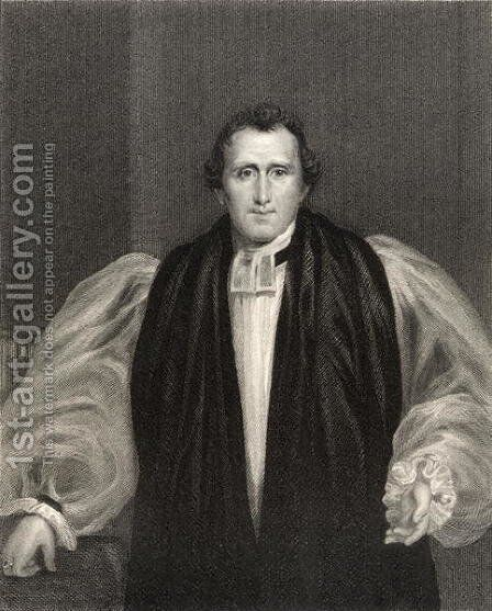 Reverend Daniel Wilson by (after) Howard, Francis - Reproduction Oil Painting