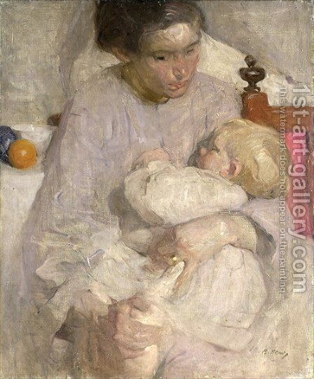 Maternity by Beatrice How - Reproduction Oil Painting