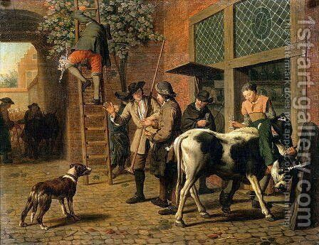 The Four Seasons Autumn by Jan Jozef, the Younger Horemans - Reproduction Oil Painting