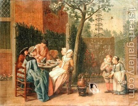 The Four Seasons Spring by Jan Jozef, the Younger Horemans - Reproduction Oil Painting