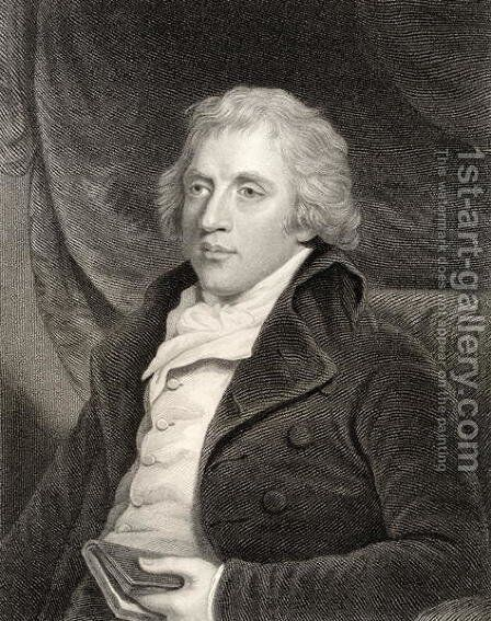 William Gifford by (after) Hoppner, John - Reproduction Oil Painting