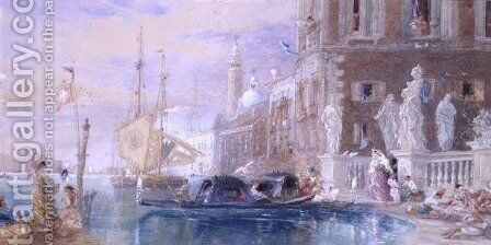 St Georges Venice by James Holland - Reproduction Oil Painting