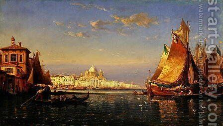 Venice by James Holland - Reproduction Oil Painting