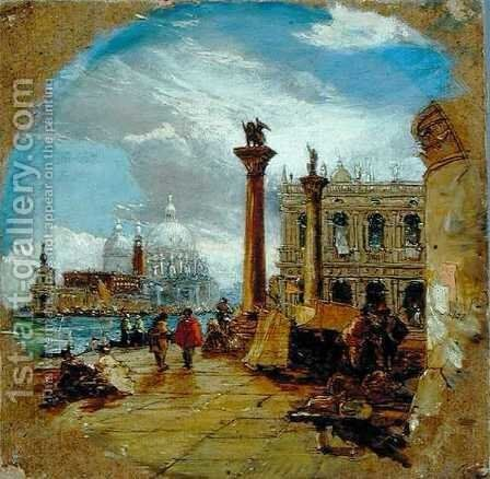 Venice 5 by James Holland - Reproduction Oil Painting