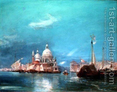 Venice 6 by James Holland - Reproduction Oil Painting
