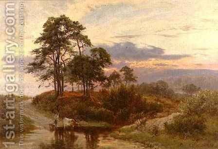 The End of the Day by Edward Henry Holder - Reproduction Oil Painting