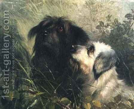 Best of Friends by Abel Hold - Reproduction Oil Painting