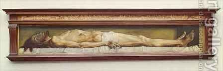 The Dead Christ by (after) Holbein the Younger, Hans - Reproduction Oil Painting