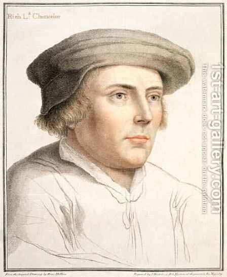 Richard Rich First Baron Rich by (after) Holbein the Younger, Hans - Reproduction Oil Painting